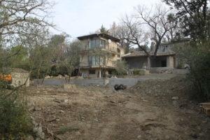 Jardin Isle sur la sorgue avant aménagement