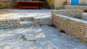 murets en pierres vaucluse