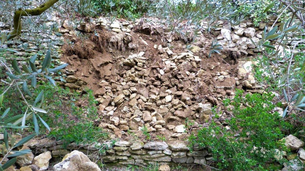 Mur-de-soutènement-ecroule