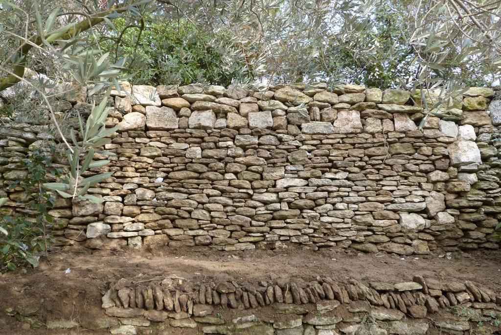 restauration-mur-de-soutènement-isle-sur-la-sorgue
