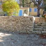 mur pierre sèche Vaucluse