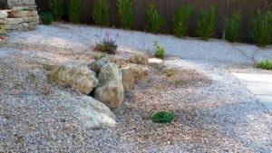 aménagement paysager jardin sec